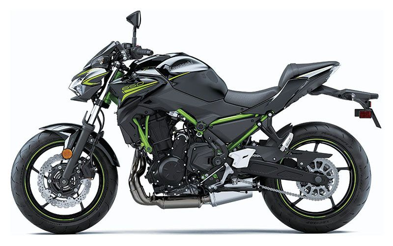 2020 Kawasaki Z650 ABS in Chanute, Kansas - Photo 2