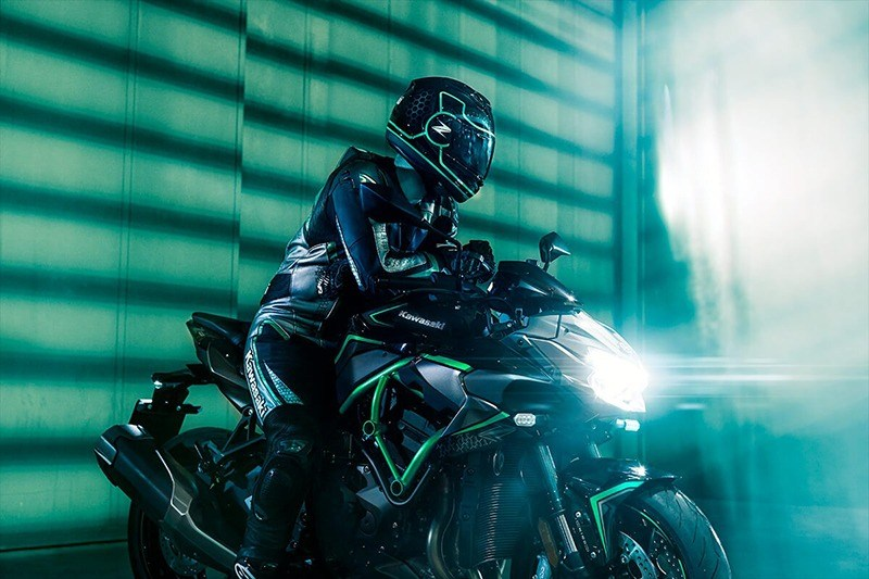 2020 Kawasaki Z H2 in South Paris, Maine - Photo 7