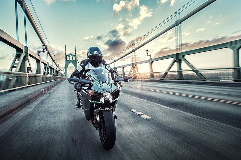 2020 Kawasaki Ninja H2 in Iowa City, Iowa - Photo 5