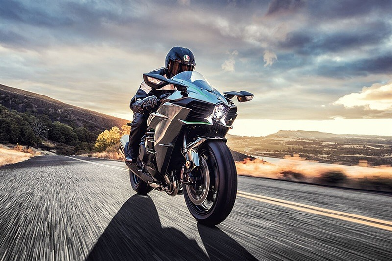 2020 Kawasaki Ninja H2 in Johnson City, Tennessee - Photo 8
