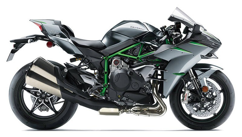2020 Kawasaki Ninja H2 Carbon in Woodstock, Illinois - Photo 1