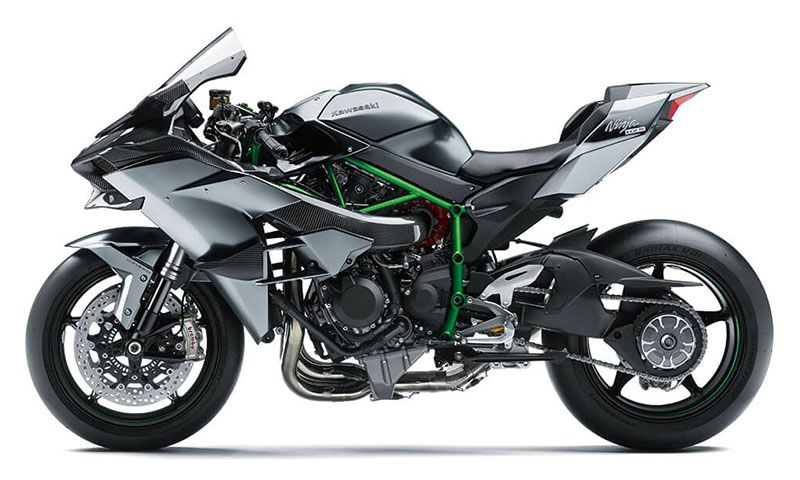 2020 Kawasaki Ninja H2 R in San Francisco, California - Photo 2