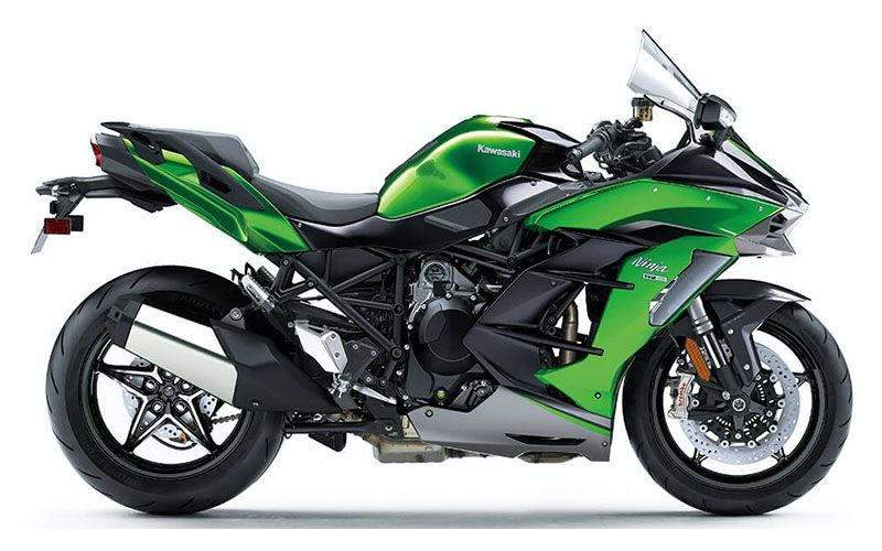 2020 Kawasaki Ninja H2 SX SE+ in Woodstock, Illinois - Photo 1