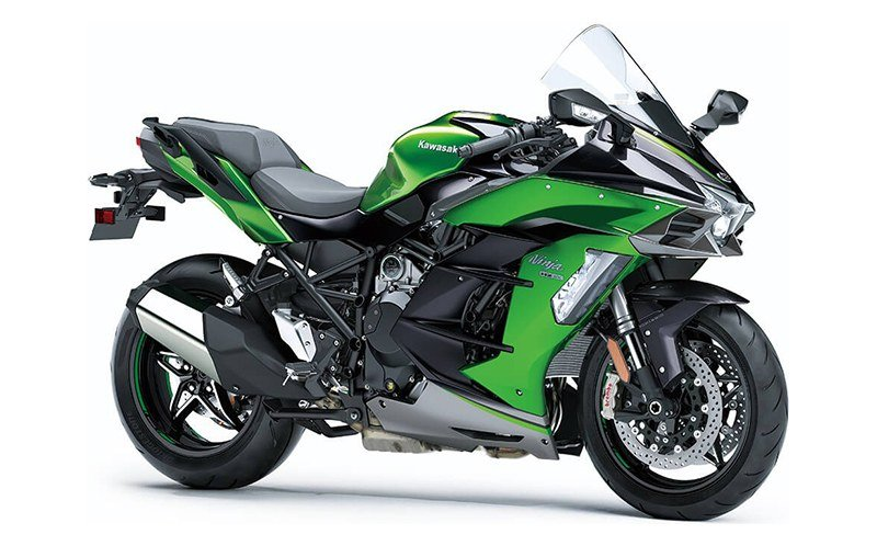 2020 Kawasaki Ninja H2 SX SE+ in Woodstock, Illinois - Photo 3