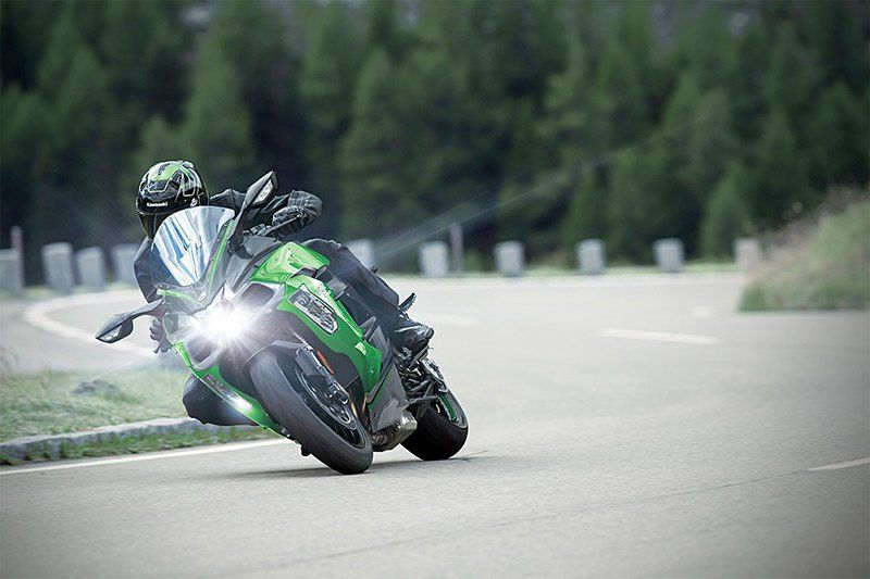 2020 Kawasaki Ninja H2 SX SE+ in Barre, Massachusetts - Photo 4