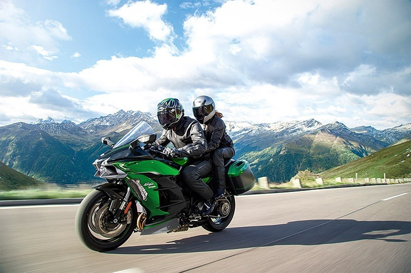 2020 Kawasaki Ninja H2 SX SE+ in Moses Lake, Washington