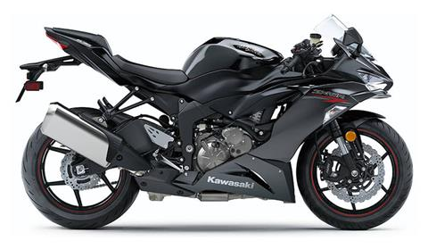 2020 Kawasaki Ninja ZX-6R in Woodstock, Illinois