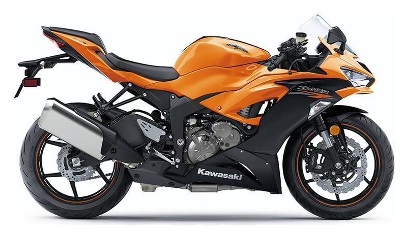 2020 Kawasaki Ninja ZX-6R ABS in Jamestown, New York