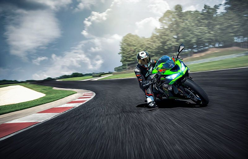 2020 Kawasaki Ninja ZX-6R ABS KRT Edition in O Fallon, Illinois - Photo 9
