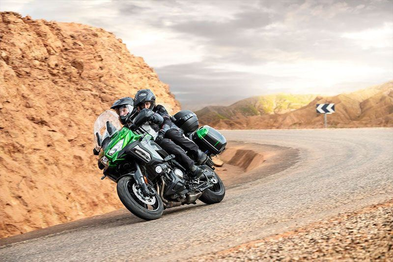 2020 Kawasaki Versys 1000 SE LT+ in Oak Creek, Wisconsin - Photo 11