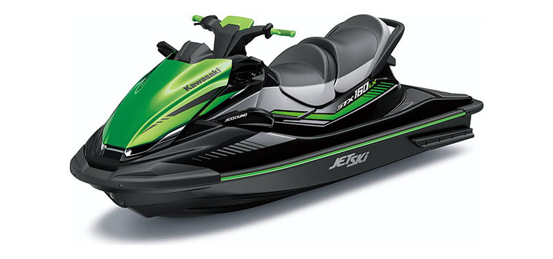 2020 Kawasaki Jet Ski STX 160LX in Mount Pleasant, Michigan - Photo 3