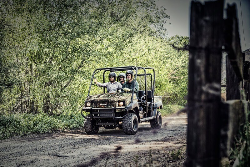 2020 Kawasaki Mule 4010 Trans4x4 Camo in Sacramento, California - Photo 4
