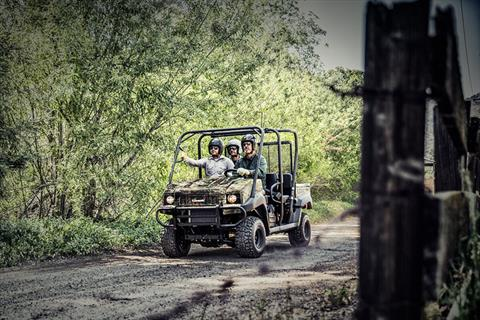 2020 Kawasaki Mule 4010 Trans4x4 Camo in Oklahoma City, Oklahoma - Photo 4