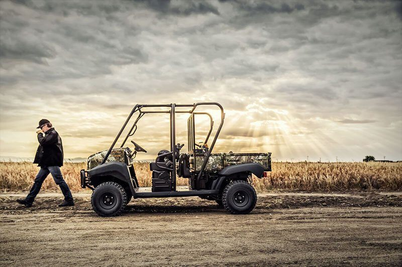 2020 Kawasaki Mule 4010 Trans4x4 Camo in San Jose, California - Photo 5