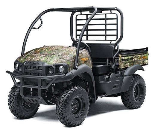 2020 Kawasaki Mule SX 4X4 XC Camo FI in North Reading, Massachusetts - Photo 3