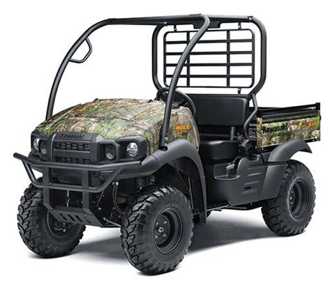 2020 Kawasaki Mule SX 4X4 XC Camo FI in Northampton, Massachusetts - Photo 3