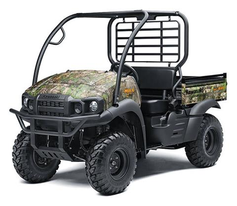 2020 Kawasaki Mule SX 4X4 XC Camo FI in Pahrump, Nevada - Photo 3