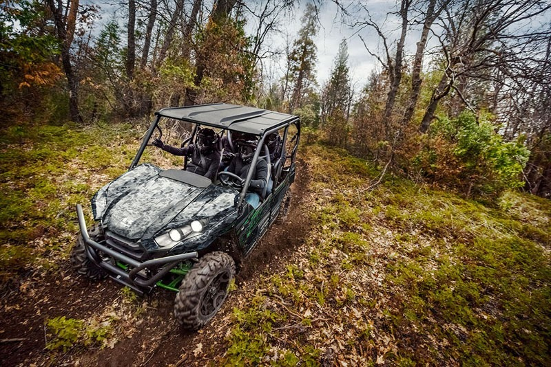 2020 Kawasaki Teryx4 LE Camo in South Paris, Maine - Photo 8