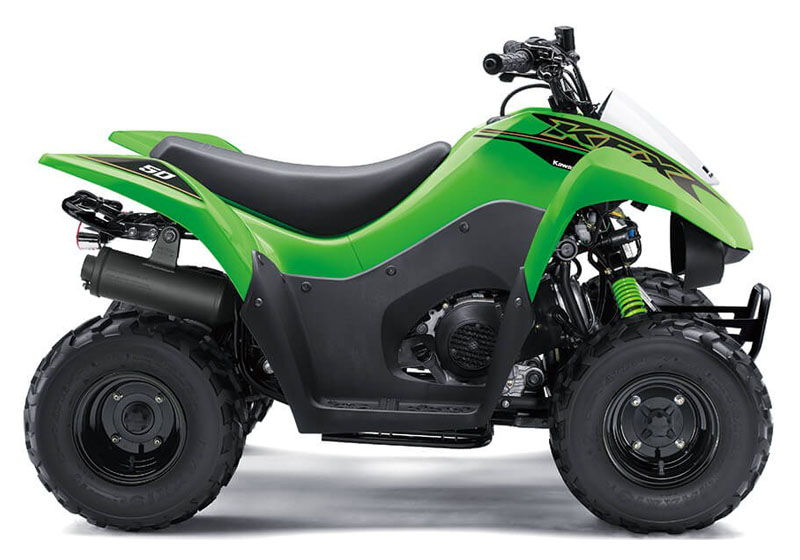 2021 Kawasaki KFX 50 in South Paris, Maine - Photo 1