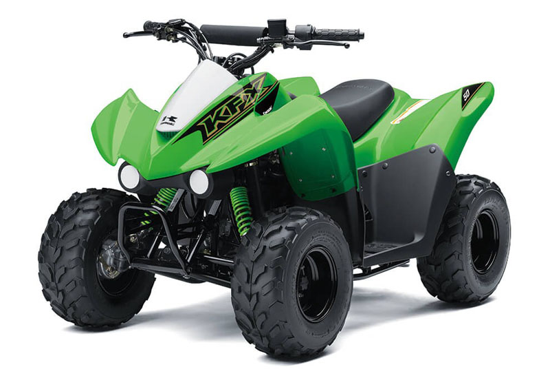 2021 Kawasaki KFX 50 in South Paris, Maine - Photo 3