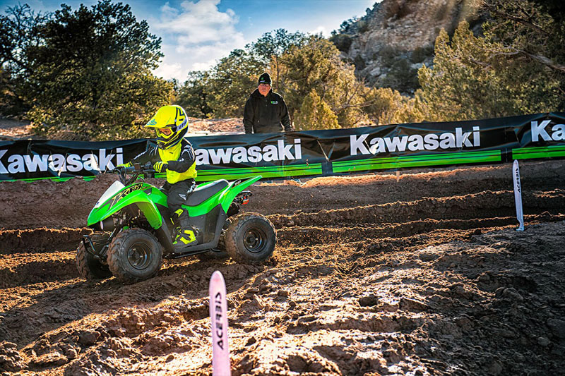 2021 Kawasaki KFX 50 in Mount Pleasant, Michigan - Photo 4