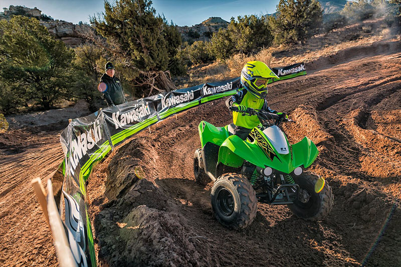 2021 Kawasaki KFX 50 in Evanston, Wyoming - Photo 8