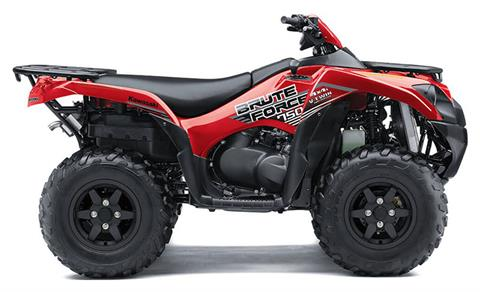 2021 Kawasaki Brute Force 750 4x4i in Freeport, Illinois