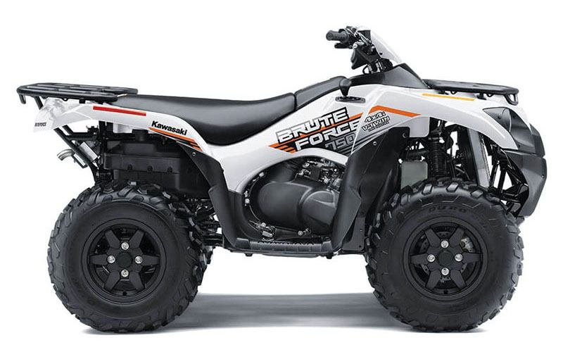 2021 Kawasaki Brute Force 750 4x4i EPS in Woonsocket, Rhode Island