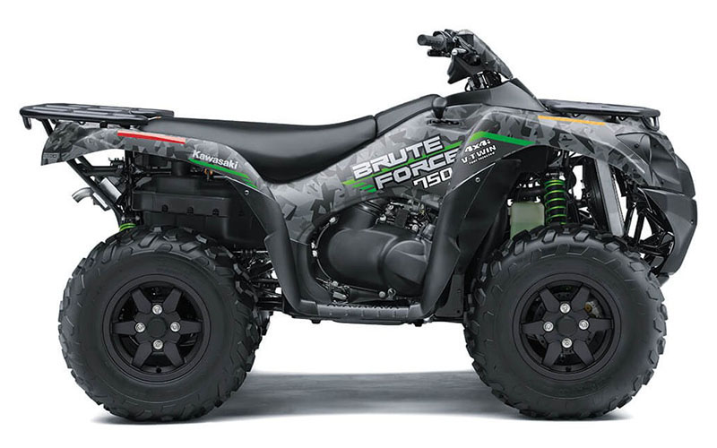 2021 Kawasaki Brute Force 750 4x4i EPS in Woodstock, Illinois - Photo 1