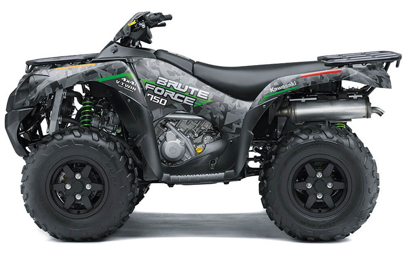 2021 Kawasaki Brute Force 750 4x4i EPS in Everett, Pennsylvania - Photo 2