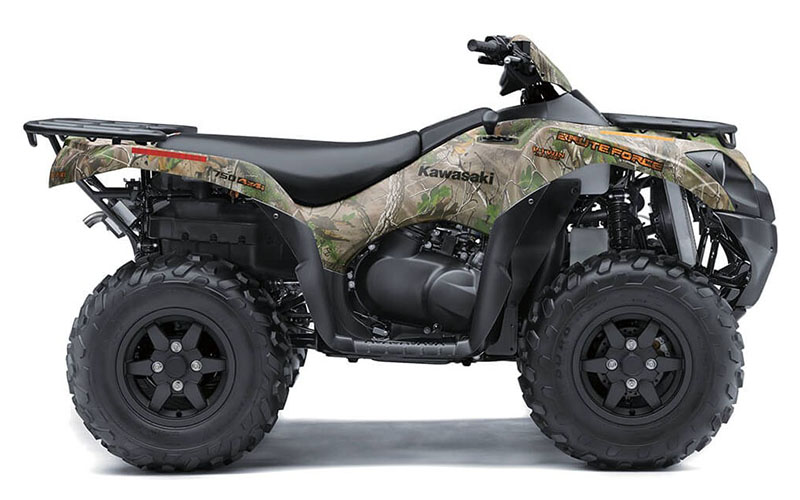 2021 Kawasaki Brute Force 750 4x4i EPS Camo in Eureka, California - Photo 1
