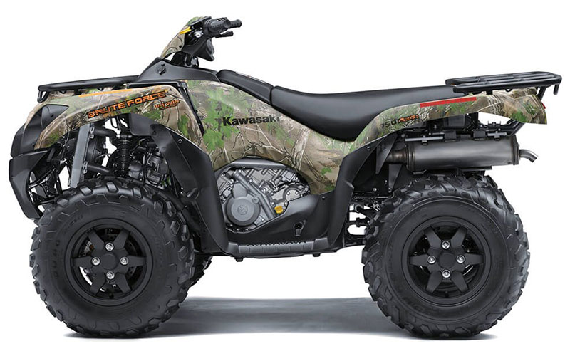 2021 Kawasaki Brute Force 750 4x4i EPS Camo in Wilkes Barre, Pennsylvania - Photo 2