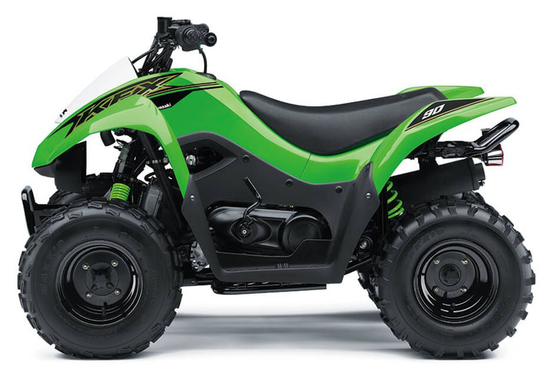 2021 Kawasaki KFX 90 in Westfield, Wisconsin - Photo 2