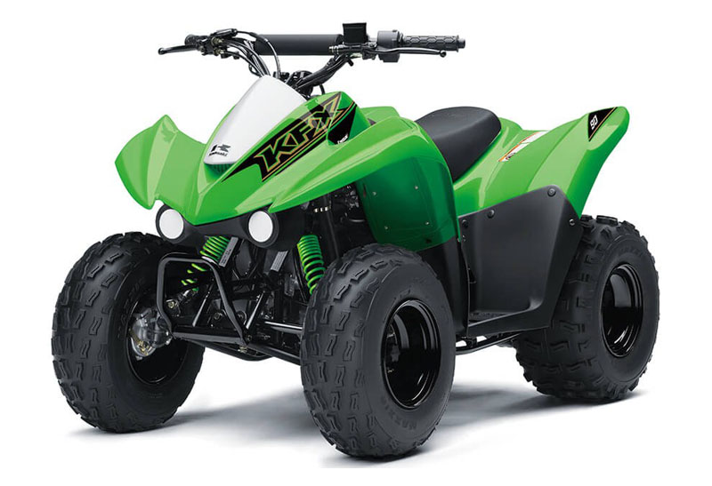 2021 Kawasaki KFX 90 in Plymouth, Massachusetts - Photo 3