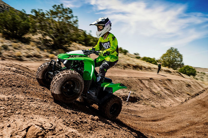 2021 Kawasaki KFX 90 in Corona, California - Photo 7
