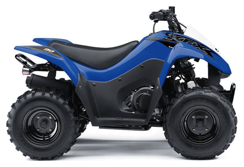 2021 Kawasaki KFX 90 in Danbury, Connecticut - Photo 1