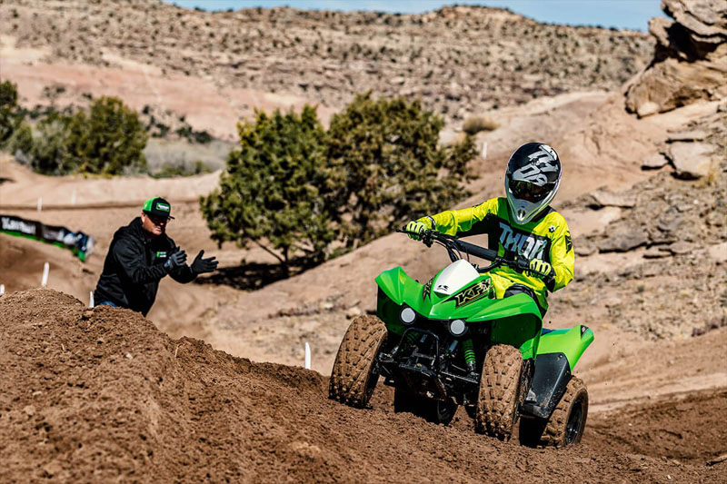 2021 Kawasaki KFX 90 in Moses Lake, Washington - Photo 6