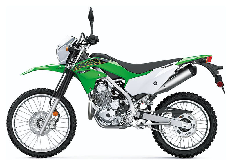 2021 Kawasaki KLX 230 ABS in Brilliant, Ohio - Photo 2
