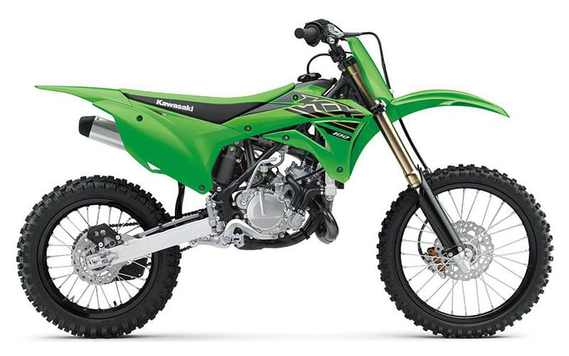 2021 Kawasaki KX 100 in Albemarle, North Carolina - Photo 1