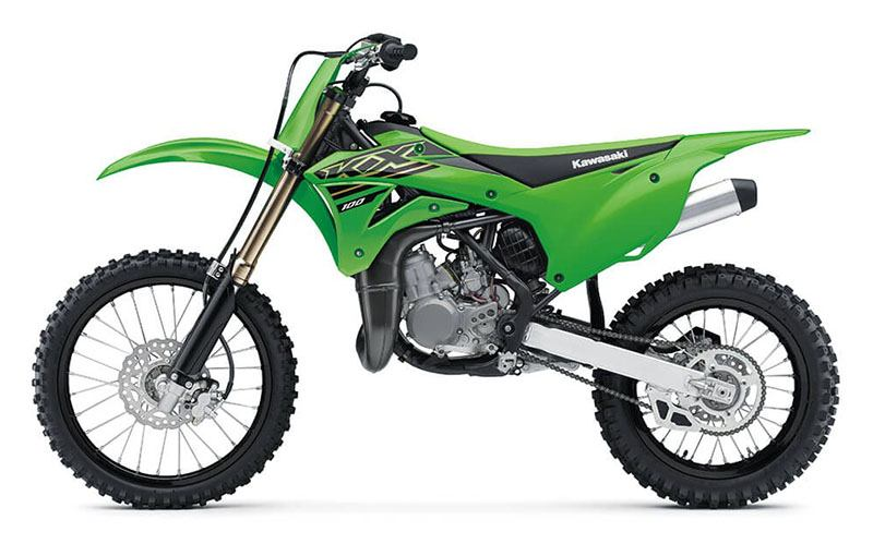 2021 Kawasaki KX 100 in Kittanning, Pennsylvania - Photo 2
