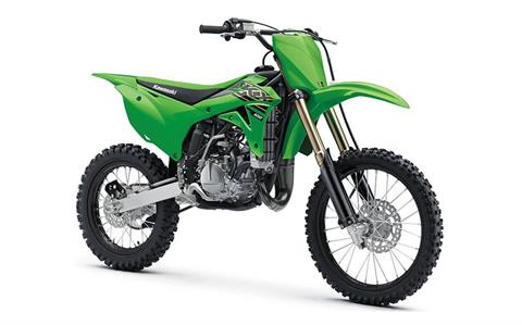 2021 Kawasaki KX 100 in Canton, Ohio - Photo 3
