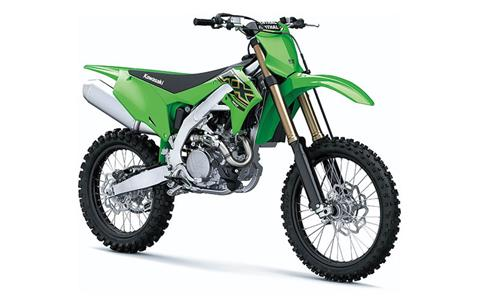 2021 Kawasaki KX 450 in Bennington, Vermont - Photo 3