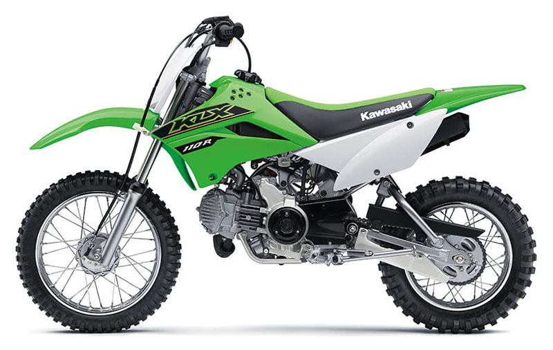 2021 Kawasaki KLX 110R in Mount Pleasant, Michigan - Photo 2