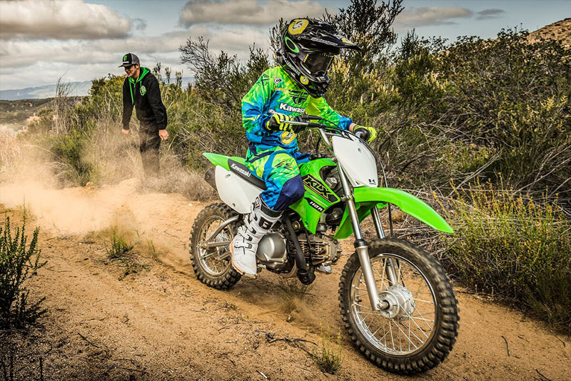 2021 Kawasaki KLX 110R in Sacramento, California - Photo 5