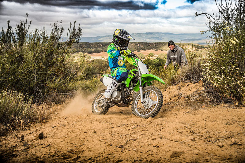 2021 Kawasaki KLX 110R in Santa Clara, California - Photo 8