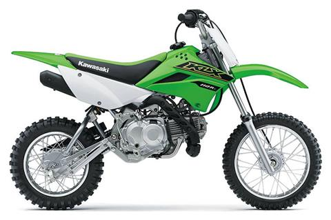 2021 Kawasaki KLX 110R L in North Reading, Massachusetts