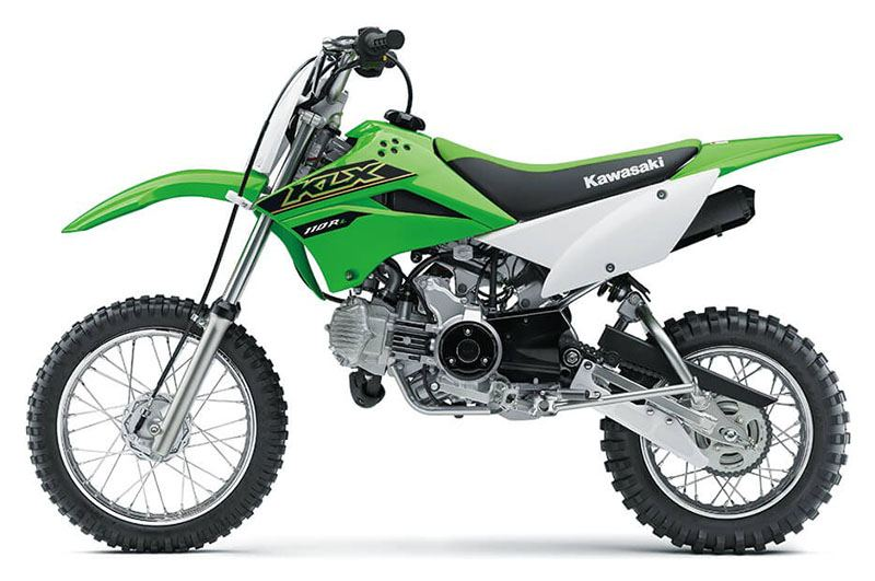 2021 Kawasaki KLX 110R L in South Paris, Maine - Photo 2