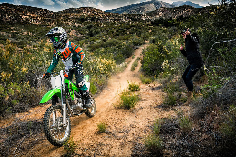 2021 Kawasaki KLX 140R in South Paris, Maine - Photo 8