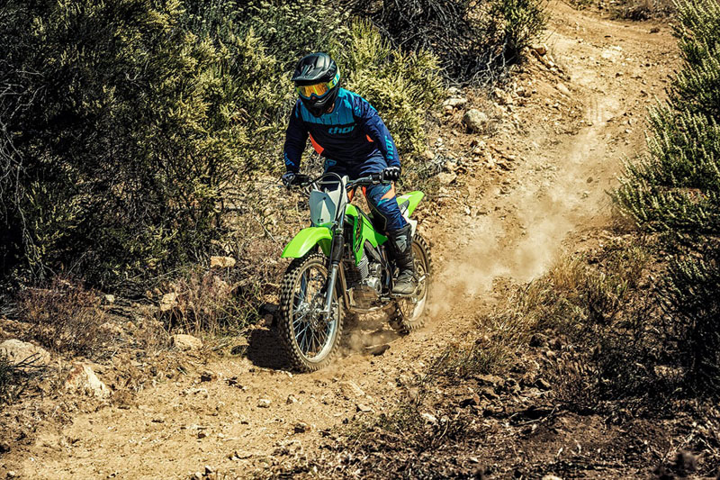 2021 Kawasaki KLX 140R F in Orange, California - Photo 8