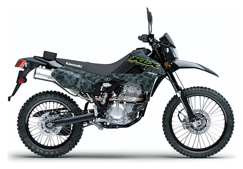 2021 Kawasaki KLX 300 in Evansville, Indiana - Photo 1